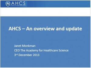 AHCS slide cover